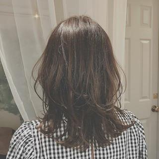 ゆるふわ オフィス エレガント デート ヘアスタイルや髪型の写真・画像