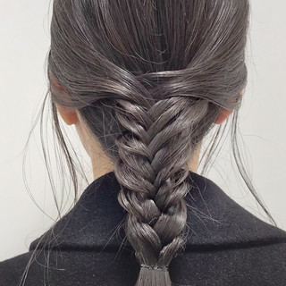 ロング ヘアアレンジ 福岡市 大人カジュアル ヘアスタイルや髪型の写真・画像