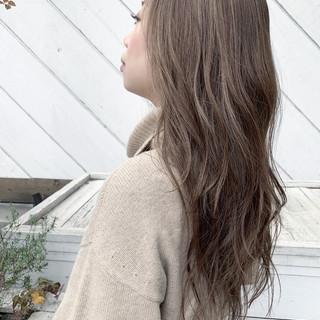 ナチュラル ビーチガール ハイライト 寒色 ヘアスタイルや髪型の写真・画像