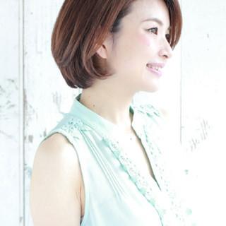 コンサバ 大人かわいい 色気 ストレート ヘアスタイルや髪型の写真・画像