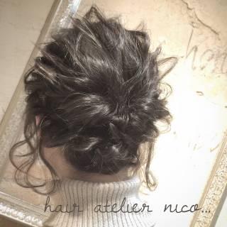 ウェットヘア ガーリー ナチュラル ストリート ヘアスタイルや髪型の写真・画像