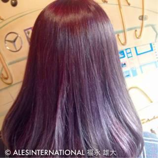 モード グラデーションカラー 暗髪 ストリート ヘアスタイルや髪型の写真・画像 ヘアスタイルや髪型の写真・画像