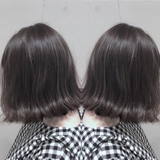 ゆるふわ 外国人風カラー ウェーブ ボブ ヘアスタイルや髪型の写真・画像