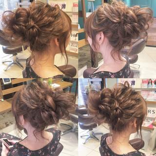 ロング ゆるふわ ヘアアレンジ デート ヘアスタイルや髪型の写真・画像 ヘアスタイルや髪型の写真・画像