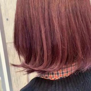 大人かわいい 切りっぱなしボブ アンニュイほつれヘア ナチュラル ヘアスタイルや髪型の写真・画像