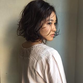 外国人風 ヘアアレンジ 色気 パーマ ヘアスタイルや髪型の写真・画像