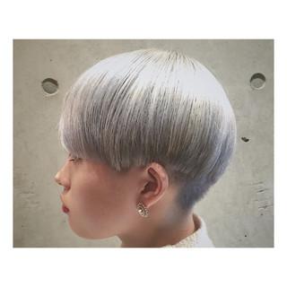 ハイライト 春 ストリート 透明感 ヘアスタイルや髪型の写真・画像