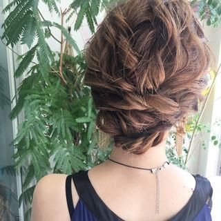 成人式 女子力 ヘアアレンジ フェミニン ヘアスタイルや髪型の写真・画像