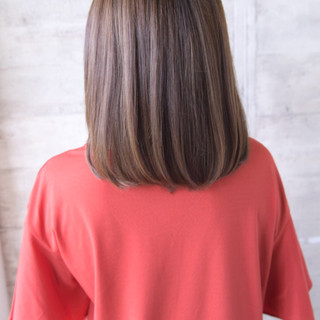 可愛い 美髪 ストレート 艶髪 ヘアスタイルや髪型の写真・画像