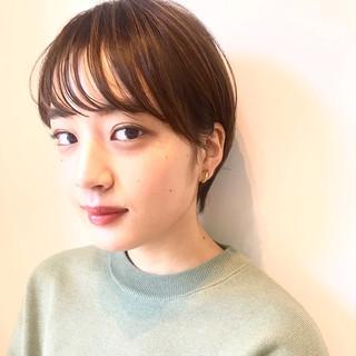オフィス デート ショート ヘアアレンジ ヘアスタイルや髪型の写真・画像