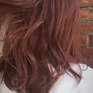 ピンク デート フェミニン 女子会 ヘアスタイルや髪型の写真・画像