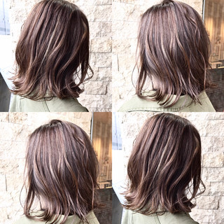 ラフ 外国人風 ハイライト 大人かわいい ヘアスタイルや髪型の写真・画像