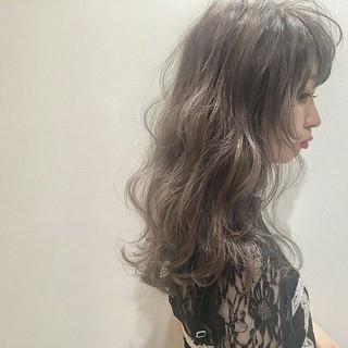 アッシュ ロック 外国人風 暗髪 ヘアスタイルや髪型の写真・画像