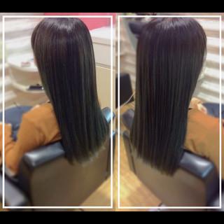 髪質改善トリートメント 社会人の味方 バレイヤージュ ナチュラル ヘアスタイルや髪型の写真・画像