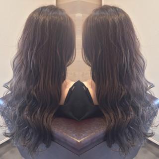 外国人風 ロング 透明感 ストリート ヘアスタイルや髪型の写真・画像