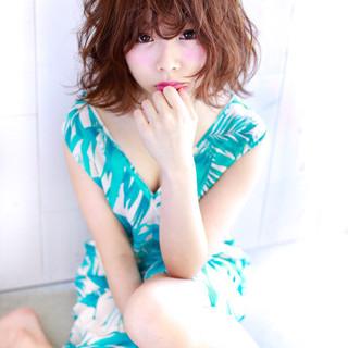 フェミニン ゆるふわ 大人かわいい ガーリー ヘアスタイルや髪型の写真・画像