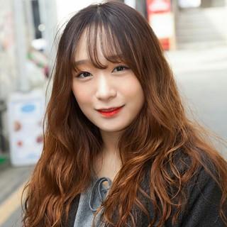 韓国のゴヨンジュさんのヘアスナップ