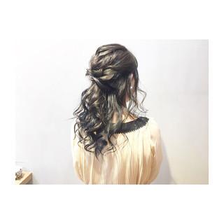 結婚式 ナチュラル デート ヘアアレンジ ヘアスタイルや髪型の写真・画像 ヘアスタイルや髪型の写真・画像