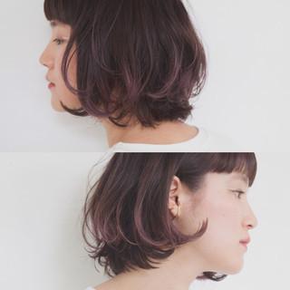 モード ブリーチ 外国人風 グラデーションカラー ヘアスタイルや髪型の写真・画像