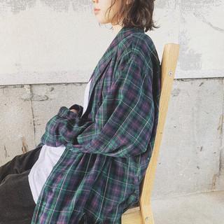 ナチュラル ヘアアレンジ 簡単スタイリング 春スタイル ヘアスタイルや髪型の写真・画像