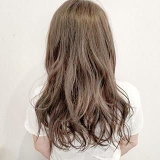 ロング 大人かわいい 外国人風 グラデーションカラー ヘアスタイルや髪型の写真・画像