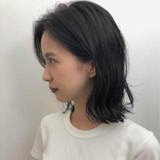 前髪あり ブルージュ ナチュラル ロブ ヘアスタイルや髪型の写真・画像