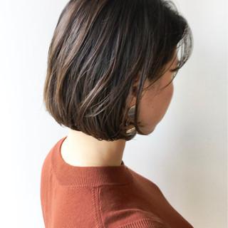 大人かわいい ナチュラル ハイライト 透明感 ヘアスタイルや髪型の写真・画像
