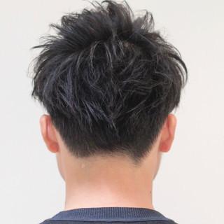 スポーツ メンズショート ショート ナチュラル ヘアスタイルや髪型の写真・画像