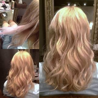 大人女子 春 ストリート ロング ヘアスタイルや髪型の写真・画像