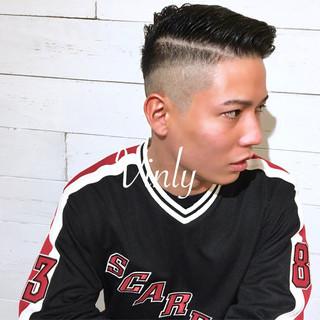 アウトドア メンズ ショート スポーツ ヘアスタイルや髪型の写真・画像