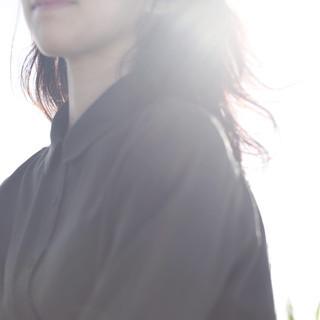 デジタルパーマ パーマ ウェーブ フェミニン ヘアスタイルや髪型の写真・画像