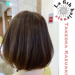 ナチュラル ダメージレス マット 透明感 ヘアスタイルや髪型の写真・画像