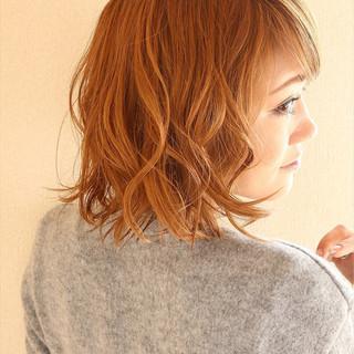 パーマ 色気 ゆるふわ ストリート ヘアスタイルや髪型の写真・画像