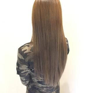 コンサバ モテ髪 透明感 外国人風カラー ヘアスタイルや髪型の写真・画像