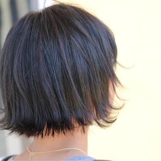 ボブ ガーリー 外ハネ 外国人風 ヘアスタイルや髪型の写真・画像