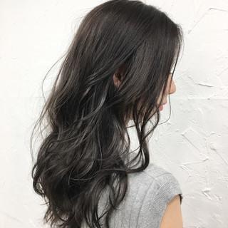 外国人風 暗髪 ストリート アッシュ ヘアスタイルや髪型の写真・画像