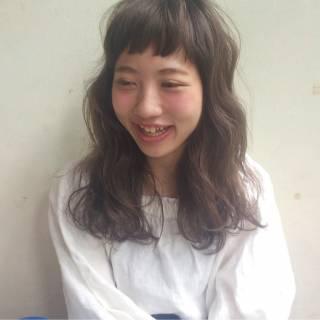 外国人風 大人かわいい ゆるふわ ストリート ヘアスタイルや髪型の写真・画像