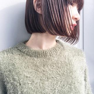 外国人風 ナチュラル 色気 ニュアンス ヘアスタイルや髪型の写真・画像