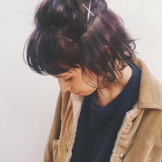 外国人風 パーマ ストリート 外ハネ ヘアスタイルや髪型の写真・画像 ヘアスタイルや髪型の写真・画像