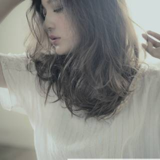 ロング 大人かわいい ストリート 外国人風 ヘアスタイルや髪型の写真・画像