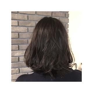 ナチュラル フェミニン 色気 暗髪 ヘアスタイルや髪型の写真・画像