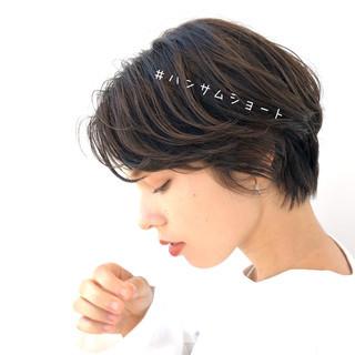 アンニュイほつれヘア 透明感カラー ナチュラル 暗髪 ヘアスタイルや髪型の写真・画像