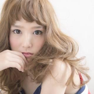 ゆるふわ コンサバ モテ髪 フェミニン ヘアスタイルや髪型の写真・画像
