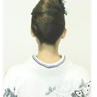 大人女子 学校 ヘアアレンジ 上品 ヘアスタイルや髪型の写真・画像