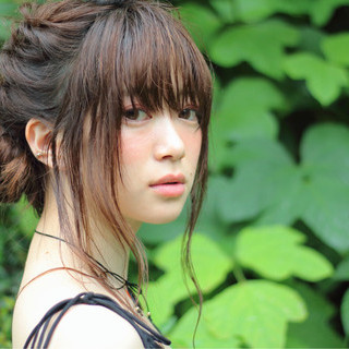 ロング 透明感 ピュア ショート ヘアスタイルや髪型の写真・画像