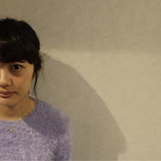 ミディアム ヘアアレンジ 外国人風 大人かわいい ヘアスタイルや髪型の写真・画像
