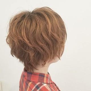 ハイライト ストリート ショート リラックス ヘアスタイルや髪型の写真・画像