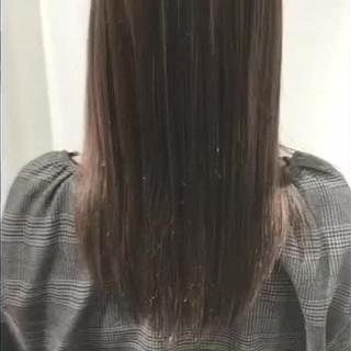 ロング パーマ 簡単ヘアアレンジ エレガント ヘアスタイルや髪型の写真・画像