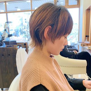 可愛い  ウルフカット ウルフ女子 ヘアスタイルや髪型の写真・画像
