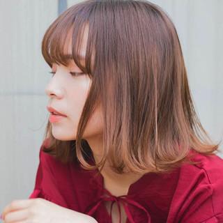 透明感 大人かわいい グレージュ デート ヘアスタイルや髪型の写真・画像